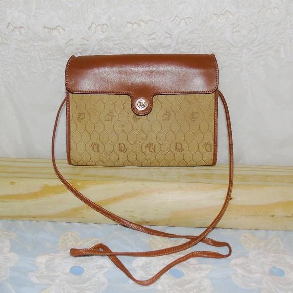 af12c3d4d1d7 Dior Handbags - Authentic Vintage Christian Dior Crossbody Bag